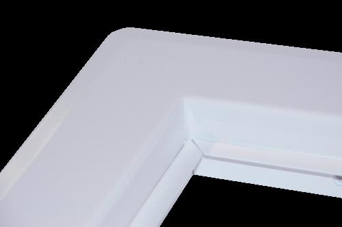 t ren eckig 300x300 mm einwurft re metall wei doppelwandig 40x40cm od 34x34cm. Black Bedroom Furniture Sets. Home Design Ideas